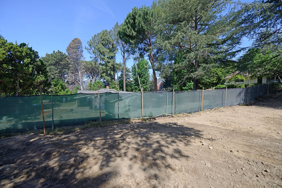 la canada flintridge major remodel two story addition entitlement neo classical house grading back yard retaining wall fencing