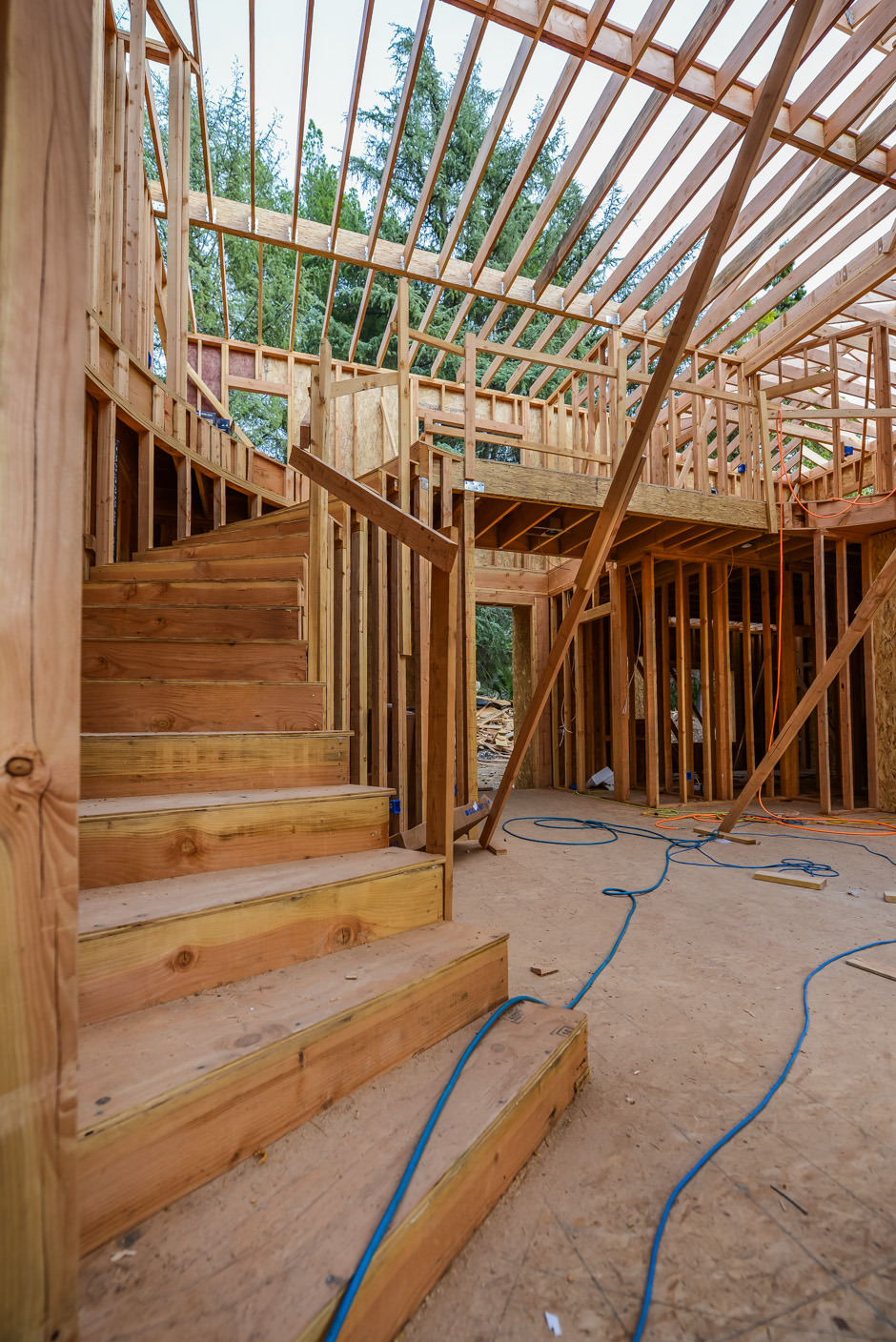 la canada new construction rebuild addition architect rash studio structural hillside permit development framing foundation homes custom residential project