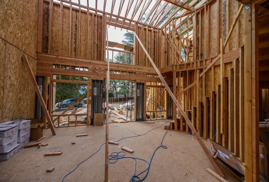 la canada new construction rebuild addition architect rash studio structural hillside permit development framing foundation system custom homes houses residential