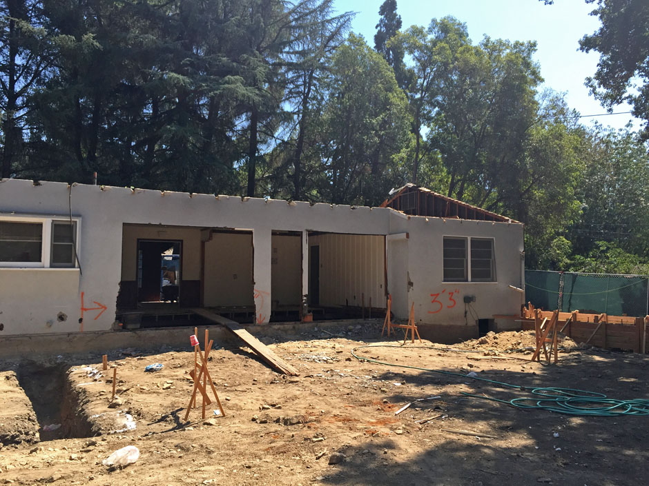 la canada rebuild architect addition major remodel new construction hillside home rash studio existing home
