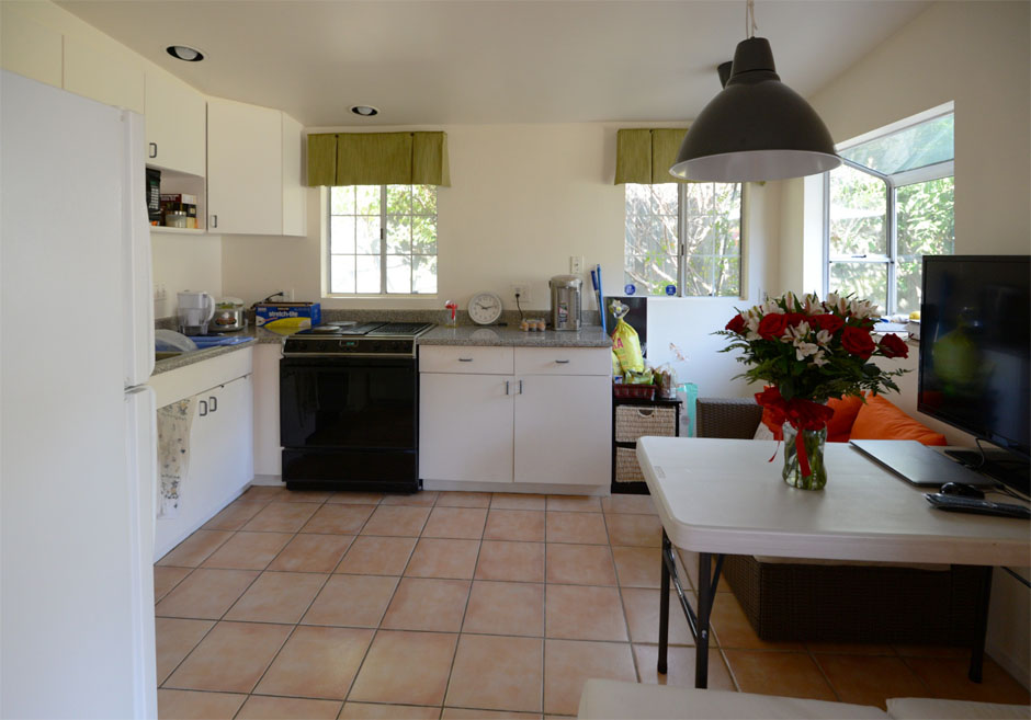 altadena modern kitchen remodel before