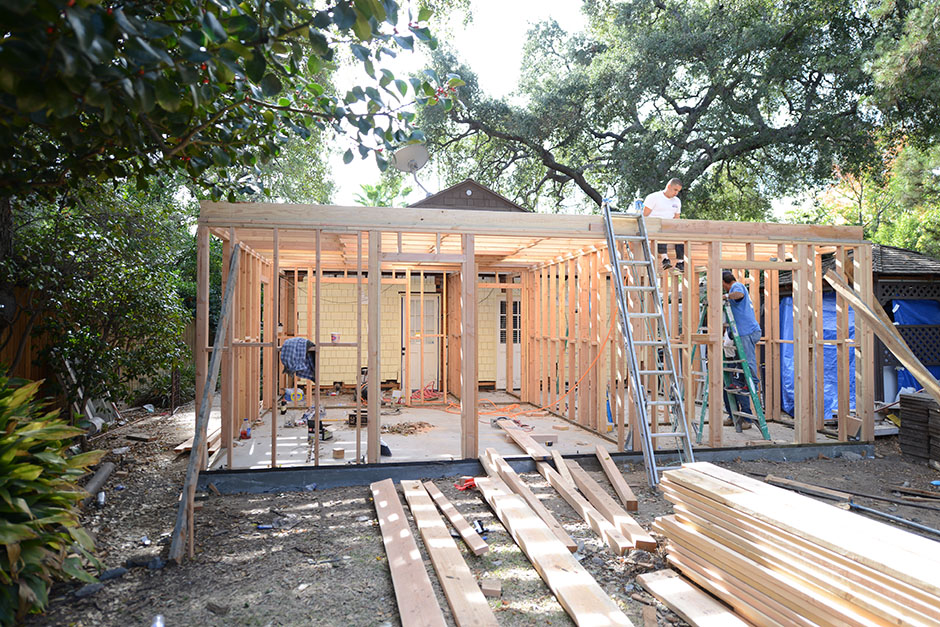 altadena architect residential addition project single story rebuild blueprints design drafting rebuild remodel home plans